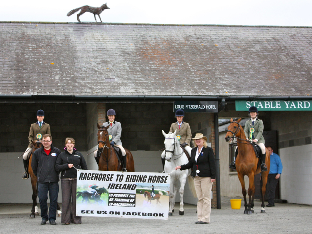Racehorse To Riding Horse Ireland Parade At Punchestown Festival Equestrian News Ni