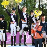 Dutch victorious in opening leg of pilot season for FEI Nations Cup™ Dressage at Vidauban, By Louise Parkes