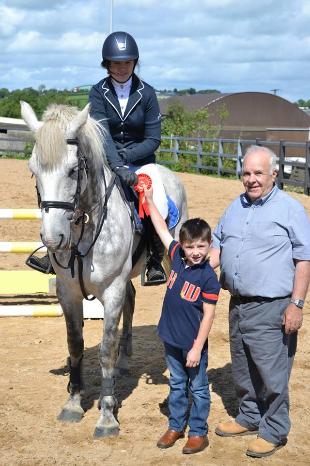 Ulster Region Grand Prix Horse Show At Kernan Equestrian
