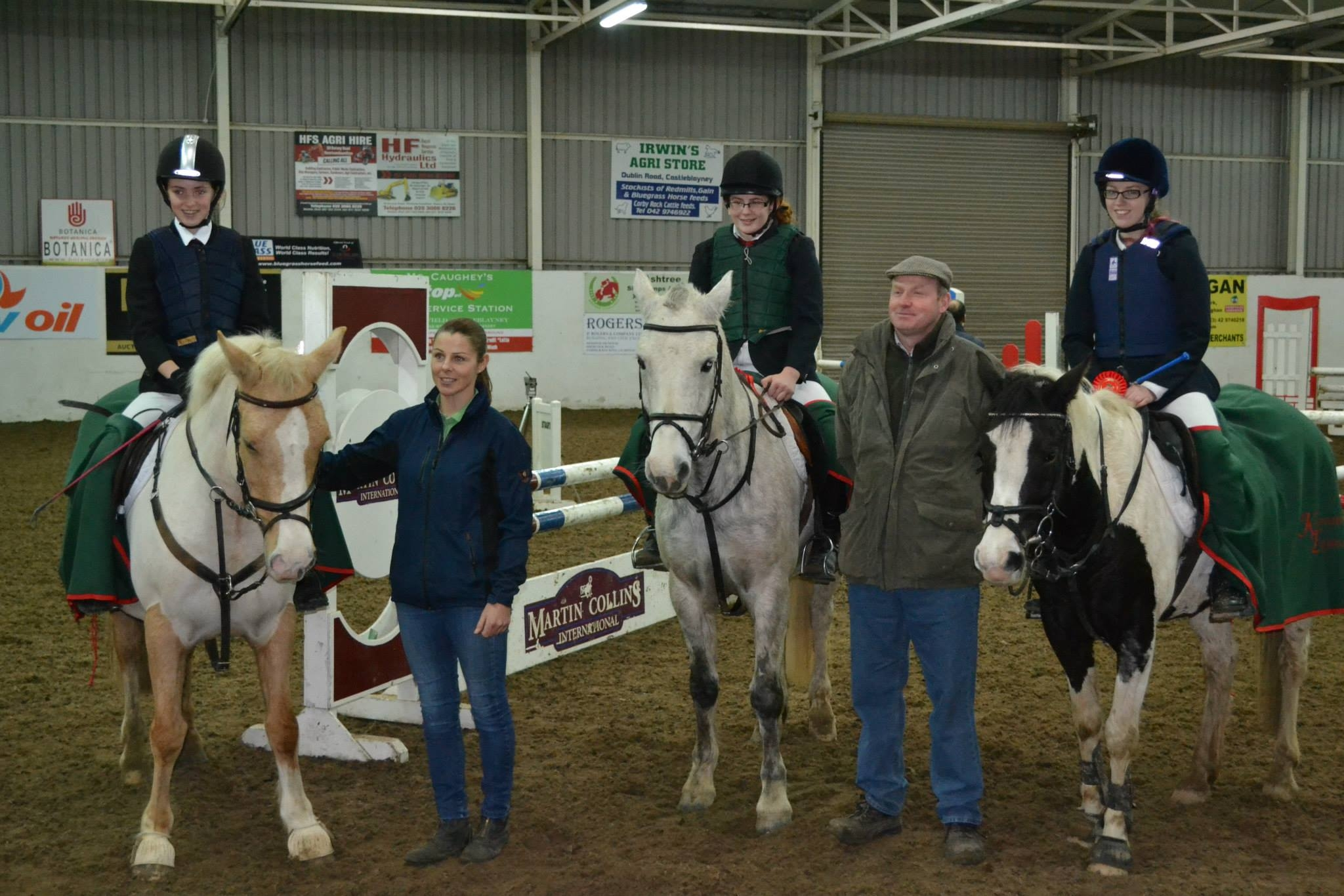 Equestrian Interschools Ireland At Kernan Equestrian