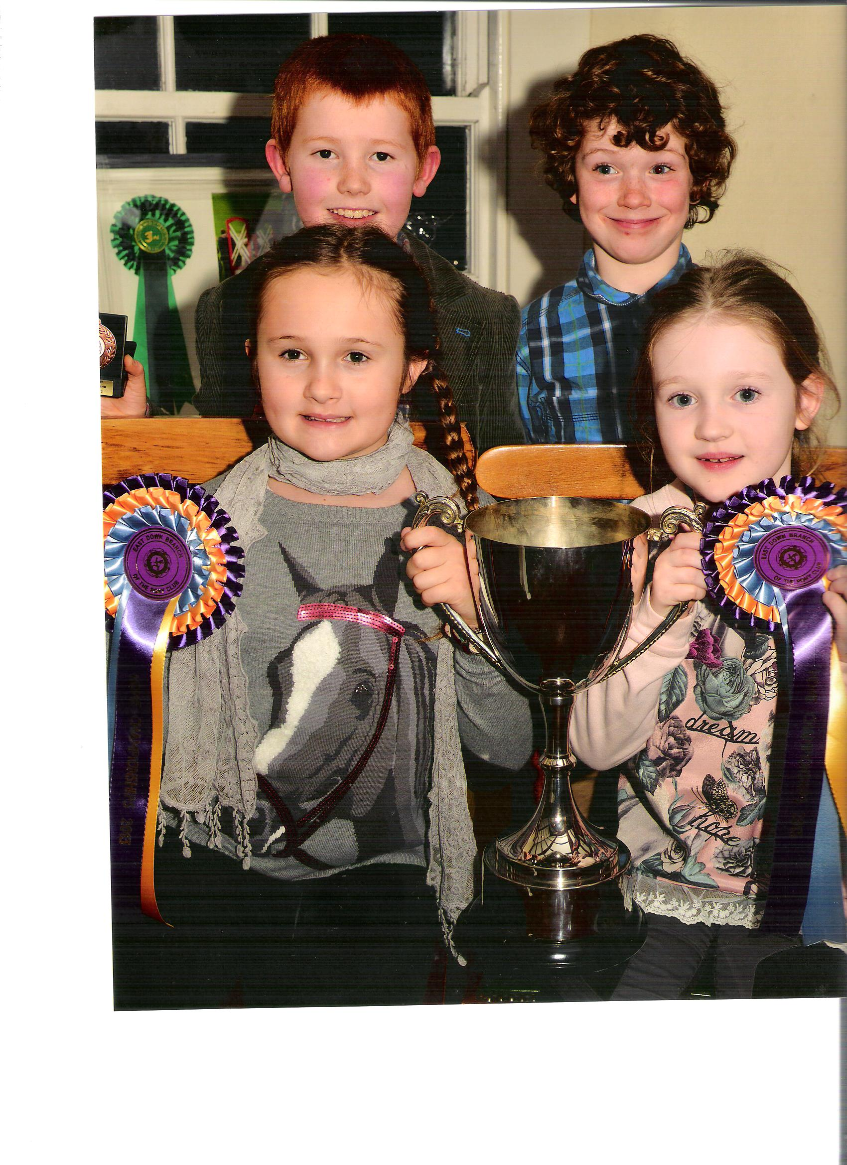East Down Branch Of The Pony Club Prizegiving For 2013