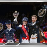 Dujardin and Valegro dance to Reem Acra glory