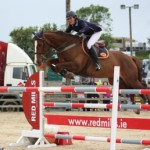 Catriona Fallon and Nivitas Charge K Land Connolly's RED MILLS Munster GP at Ballinamona