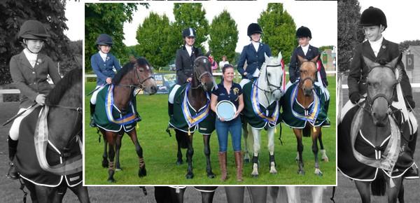 Downshire Success at UK National Riding Club Show Jumping Championships