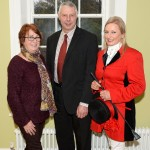 Pictured at The Saintfield Christmas Charity Ride Launch at Rowallane Garden Saintfield last Thursday.  Freda Murphy (Saintfield Livestock Mart. Hosts of The Saintfield Christmas Charity Ride) with Councillor Robert Burgess and Joan Cunningham (Ride Organiser). Photo: John Gibson, Sporting Images NI