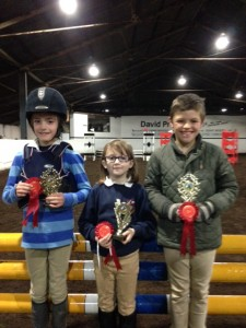 Friday night trophy winners at Mossvale Equestrian Centre