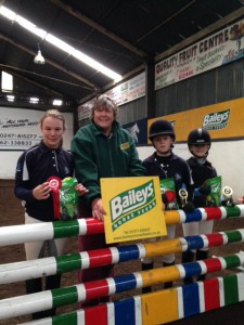 Dromore and spa winning team of BAILEYS Inter schools league