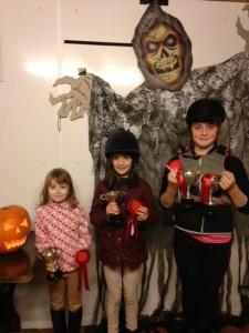 Friday night cup winners Sarah Craig, Catherine McClelland and Lara mccomb