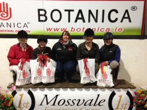 Three tubes and a smartie winning team of BOTANICA Adult league