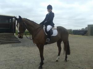Eimear White & Bonnie winners of Class 6