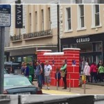 Puissance Wall Visits Landmark Locations For Jumping In The City