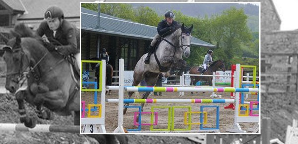 Top class jumping at Ravensdale Lodge