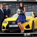 Lexus Belfast Revs up the Style Stakes at Down Royal