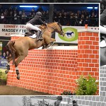 Co Antrim Teenager shows clean pair of socks at Cavan Kingsland Puissance