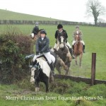 Annual County Down Hounds Boxing Day Drag Hunt in Ballynahinch