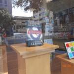 Bookshop-window